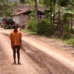 boy middle road village